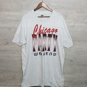 Vintage Chicago Single Stitched T Shirt. AMAZING!